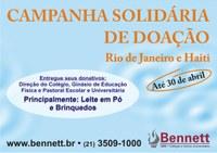 CAMPANHA SOLIDÁRIA DE DOAÇÃO