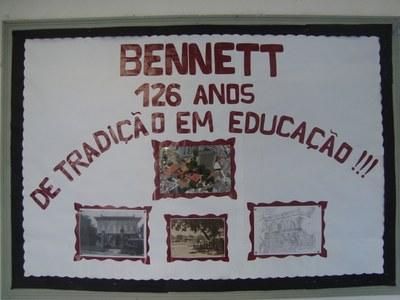 COMEMORAÇÃO DOS 126 ANOS DO COLÉGIO METODISTA BENNETT