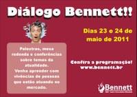 DIÁLO BENNETT - 23 E 24 DE MAIO