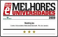 NUTRIÇÃO É 3 ESTRELAS NO GUIA DO ESTUDANTE MELHORES UNIVERSIDADES