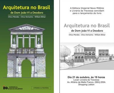 PROFESSOR DE ARQUITETURA LANÇA LIVRO DIA 21