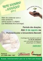 TROTE SOLIDÁRIO E ECOLÓGICO 2011.2