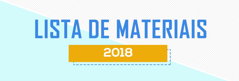 Banner Lista de Materiais