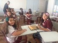 Alunos do Integral já estão há um mês praticando Xadrez