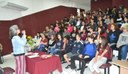 Alunos participam de palestra sobre Direitos Humanos