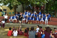 """Bullying é tema de palestra durante celebração do """"Dia do Coração Aquecido"""""""