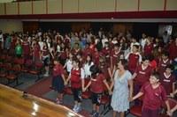 Colégio Bennett realiza celebração em gratidão ao início do ano letivo