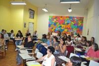Docentes e equipe pedagógica participam de momentos de aprimoramento e capacitação