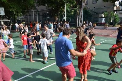 Primeiro Praça Bennett do ano proporciona uma festa da família